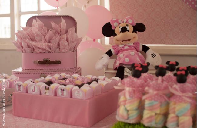 enfeites personalizados festa Minnie