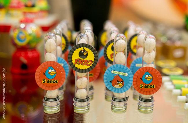Festa Angry Birds - tubetes personalizados