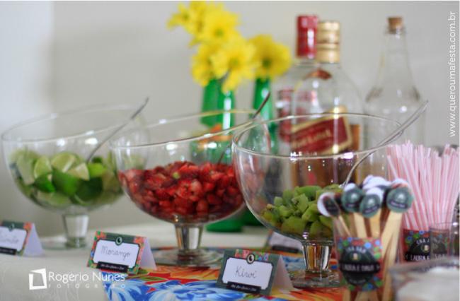 decoração personalizada para Chá bar