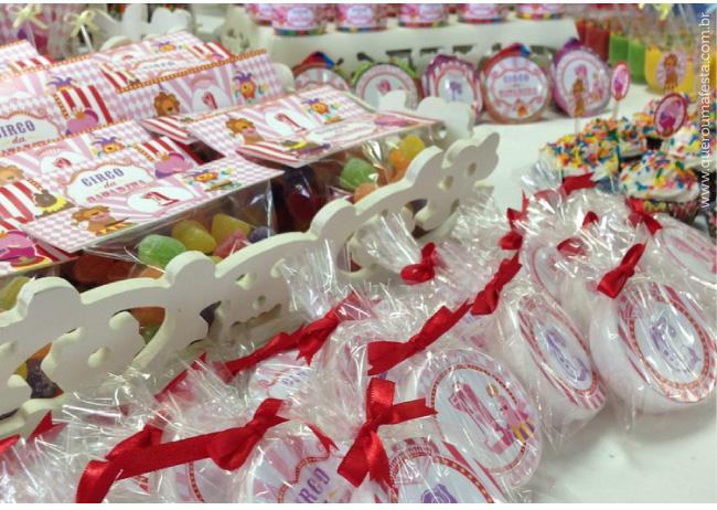 rótulos e tags kit festa circo rosa, enfeites festa circo para meninas, festa circo personalizada