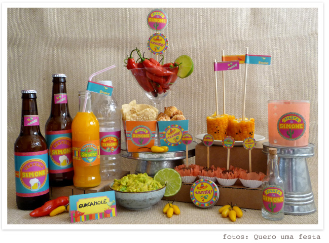 artigos para festa mexicana