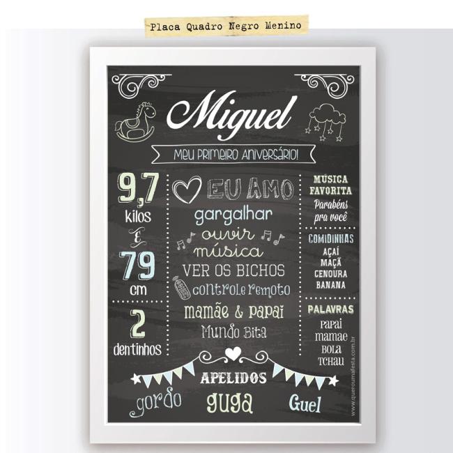 Placa quadro negro menino - Placa quadro negro para menina - placa lousa infantil, placa estilo lousa bebe, placa lousa para imprimir, placa chalkboard infantil