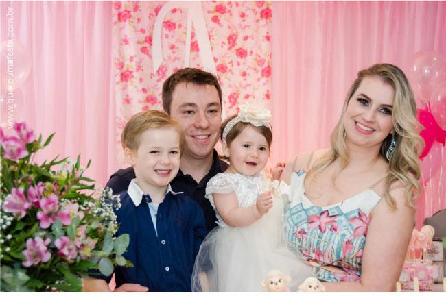 foto de familia aniversario 1 ano