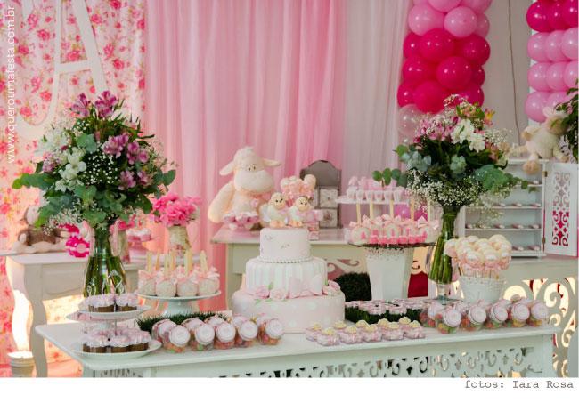Festa Ovelhinha - aniversário de 1 ano