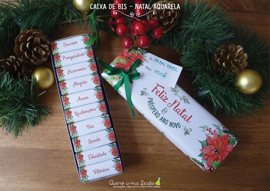 caixa de bis decorada - enfeites para bis de natal, kit digital caixa de bis, presente de natal bonito e barato