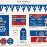 Kit Festa Copa Rússia