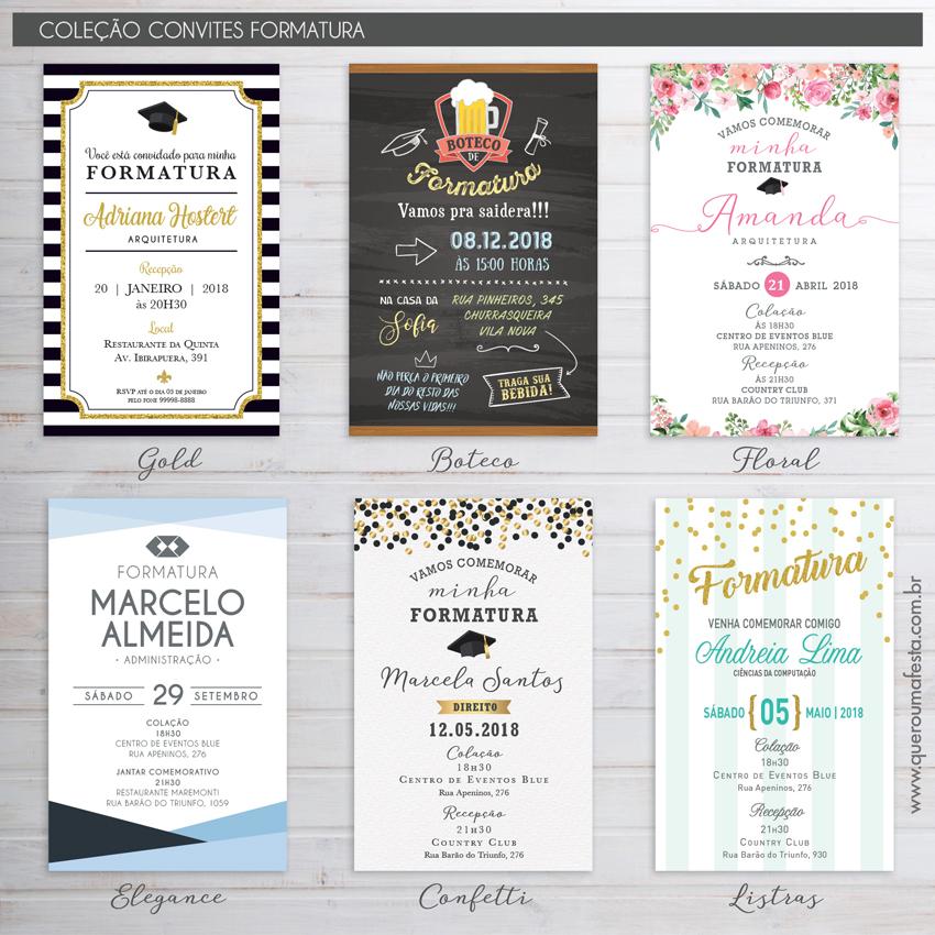 convite formatura online, convite formatura simples, convite formatura personalizado, convite formatura, convite formatura para whatsapp